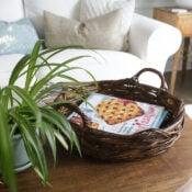 Polyshades Basket Makeover