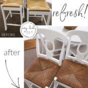 Quick & Easy Barstool Refresh