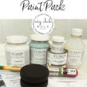 Birthday Giveaway - Fusion Mineral Paint
