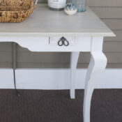 Coastal Console Table Makeover