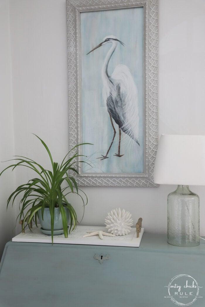 Blue Heron Painting DIY