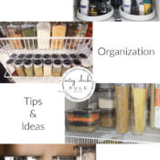 Kitchen Organization Tips (ideas & favorite products!)
