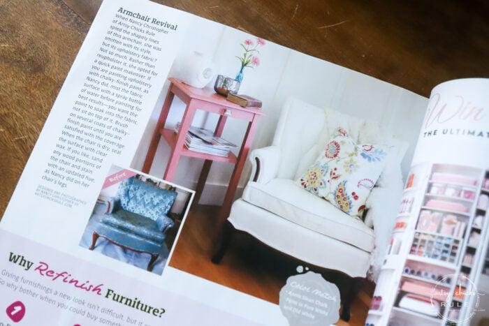 magazine feature artsychicksrule rule - country sampler farmhouse style