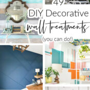 DIY Decorative Wall Treatments (you can do!)