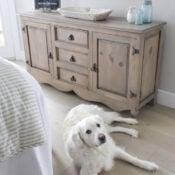 Driftwood Stain Dresser