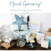 March Giveaway (featuring The Cottage Shop - OBX!)
