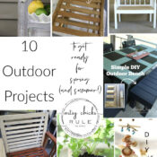 Outdoor Projects To Get Ready For Spring (and summer!)