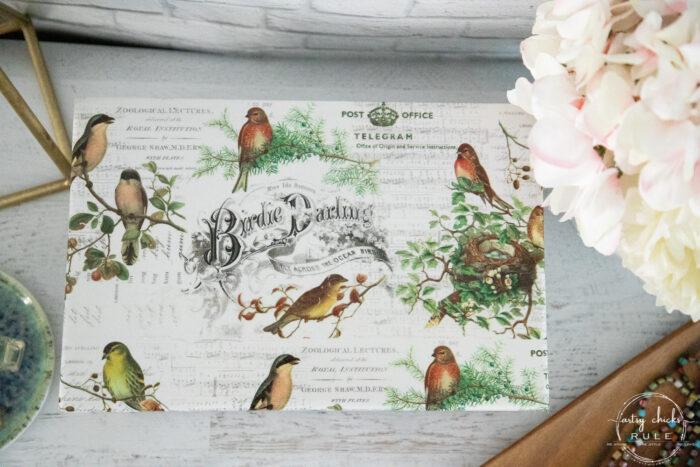 to view of jewelry bird paper jewelry box