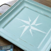 Compass Rose Tray
