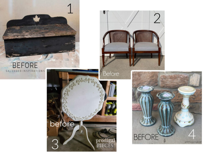 thrifty finds pictured before