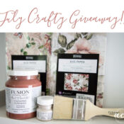 July Crafty Giveaway!