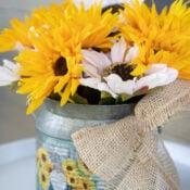 Sunflower Decor For Fall